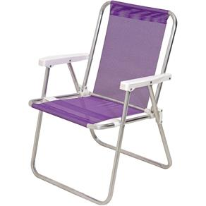 Cadeira de Praia Alta Alumínio Sannet