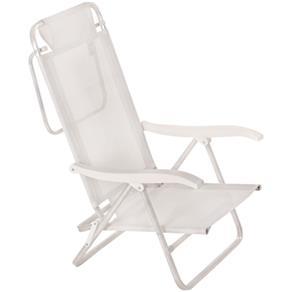 Cadeira de Praia Alta Branca