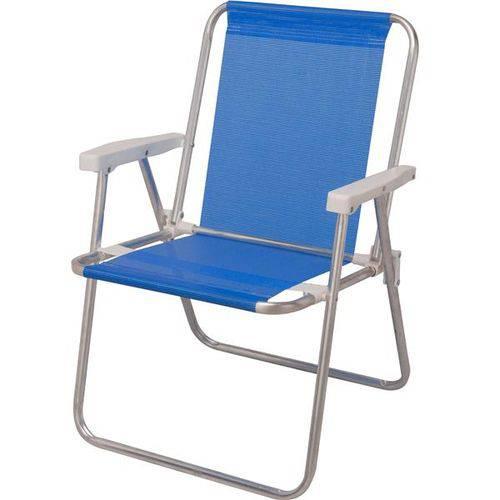 Cadeira de Praia Alta Mor Sannet Azul