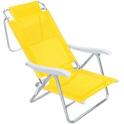 Cadeira de Praia Mor Sol de Verão Amarela