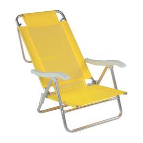Cadeira de Praia Sol de Verão Amarelo