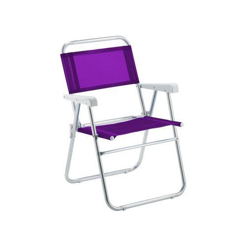 Cadeira de Praia Sun Alumínio Lilás