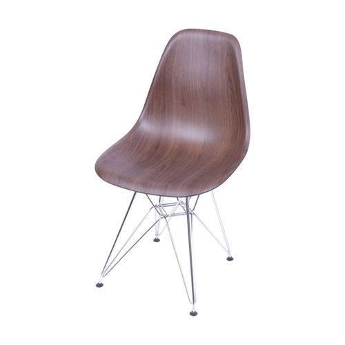 Tudo sobre 'Cadeira Eames Dsr Wood Escuro'