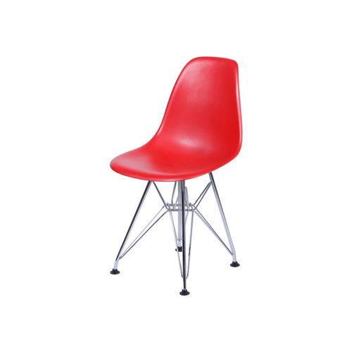 Tudo sobre 'Cadeira Eames Dkr Base Cromada - Vermelha'