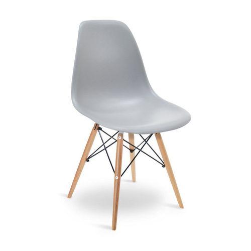 Tudo sobre 'Cadeira Eames DSW Cinza Cinza'