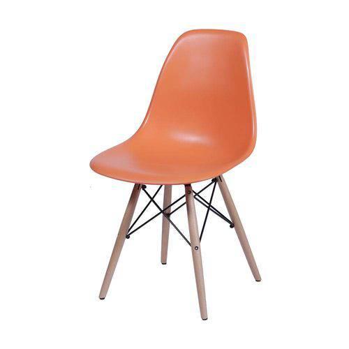 Tudo sobre 'Cadeira Eames Dsw Infantil Laranja'