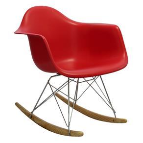 Tudo sobre 'Cadeira Eiffel com Braço Balanço Vermelho'