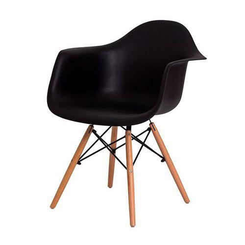 Cadeira Eiffel com Braço Preto
