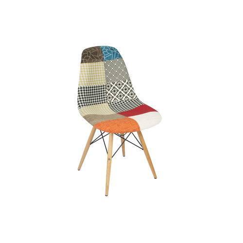 Tudo sobre 'Cadeira Eiffel Patchwork Sem Braço'