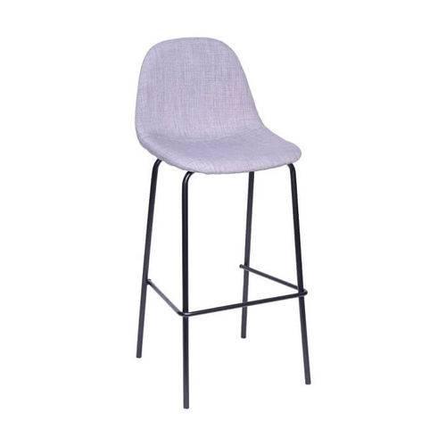 Tudo sobre 'Cadeira em Linho Base Metal Cinza'