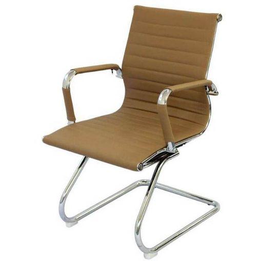 Tudo sobre 'Cadeira Escritório Caramelo Fixa 3301 Or Design'
