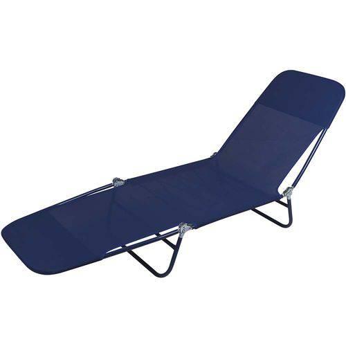 Tudo sobre 'Cadeira Espreguiçadeira Textilene Azul'