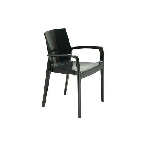 Cadeira Femme com Braço Preta