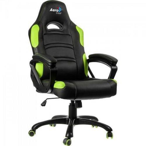 Tudo sobre 'Cadeira Gamer Aerocool Ac80c Preta/verde En55079'