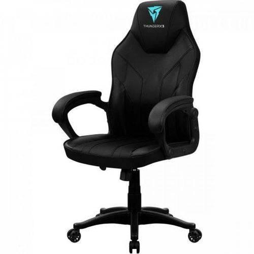 Tudo sobre 'Cadeira Gamer Ec1 Preta Thunderx3'