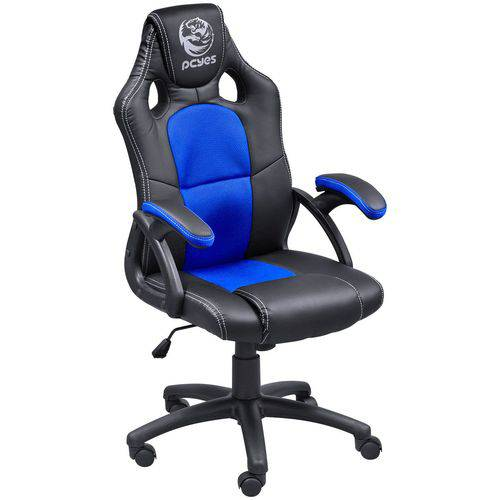 Cadeira Gamer Mad Racer V6 Azul - Pcyes