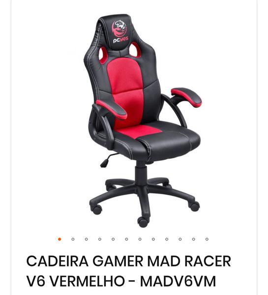 Cadeira Gamer Mad Racer V6 - Pcyes