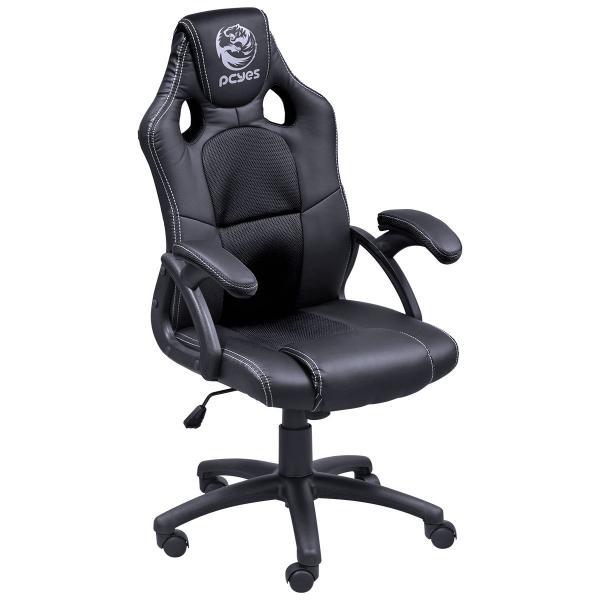 Cadeira Gamer Mad Racer V6 Preta MADV6PT - Pcyes