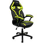 Tudo sobre 'Cadeira Gamer Mymax Mx1 Giratória - Preta/Verde'