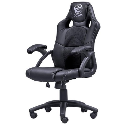 Cadeira Gamer PCYes Mad Racer V6 MADV6PT Preta