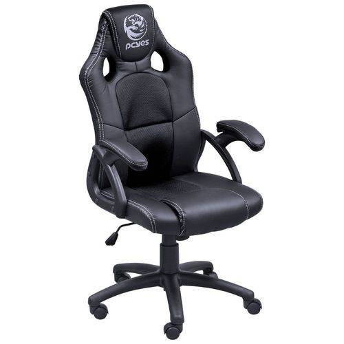 Cadeira Gamer PCYes Mad Racer V6 Preta - MADV6PT