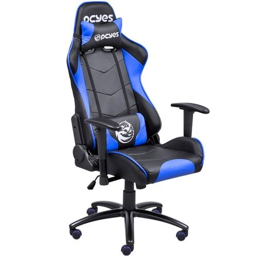 Cadeira Gamer - PCYes Mad Racer V8 - MADV8AZ - Preto / Azul