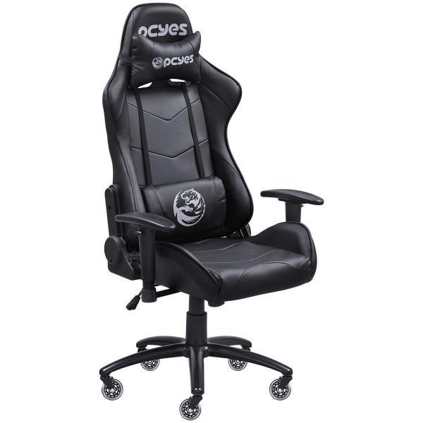 Cadeira Gamer PCYes Mad Racer V8 MADV8PTGL Preta