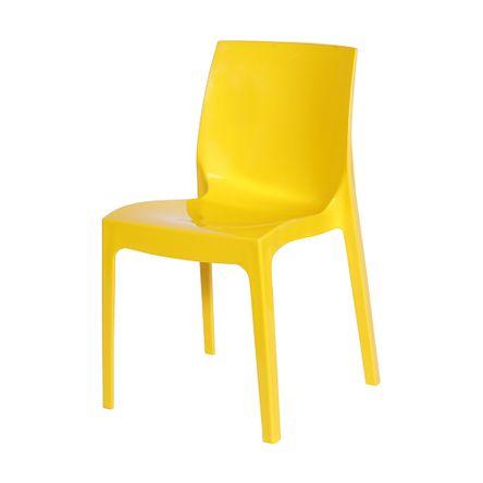 Tudo sobre 'Cadeira Ice Amarela'