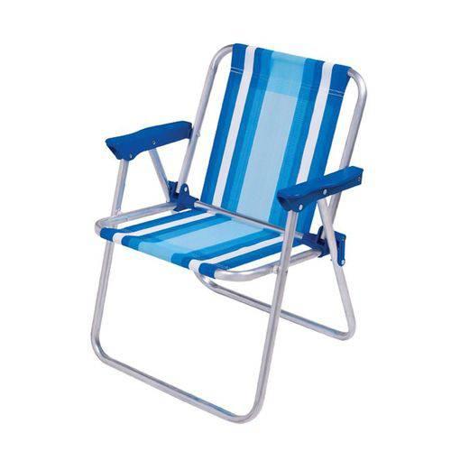 Cadeira Infantil Alta Alumínio - Mor