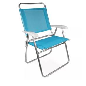 Cadeira Master Alta Plus Fashion Alumínio Cores Sortidas Mor