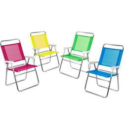 Cadeira Master Plus Alumínio Fashion - Cores Sortidas - Mor