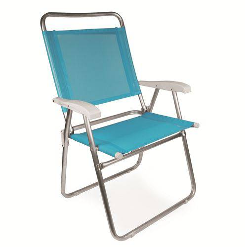 Cadeira Master Plus Fashion Alumínio 2119 Cores Sortidas Mor
