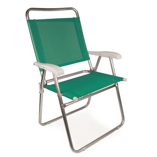 Cadeira Master Plus Fashion Alumínio 2119 Mor