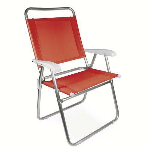 Cadeira Master Plus Fashion Alumínio - Coral