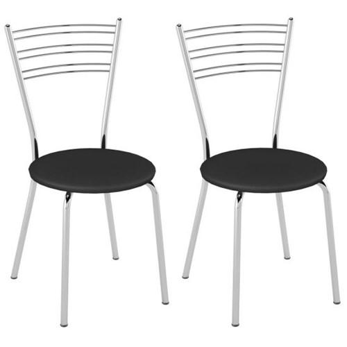 Cadeira PC05 2 Unidades - Pozza | Elare