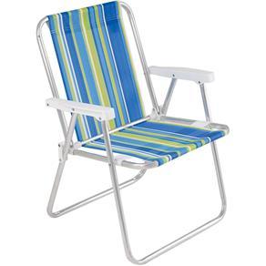 Cadeira Praia Alta Alumínio