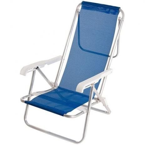 Tudo sobre 'Cadeira Reclinavel de 8 Posições Alluminio - MOR'