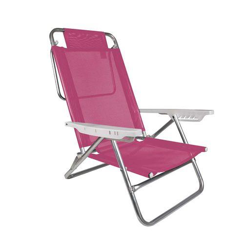 Cadeira Reclinável Summer Pink MOR 2118