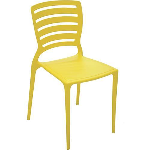 Tudo sobre 'Cadeira Sofia Amarela - Tramontina'