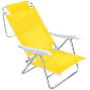 Cadeira Sol de Verão Amarela - Mor