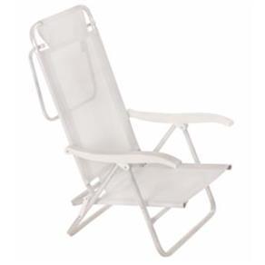 Cadeira Sol de Verão Branca MOR