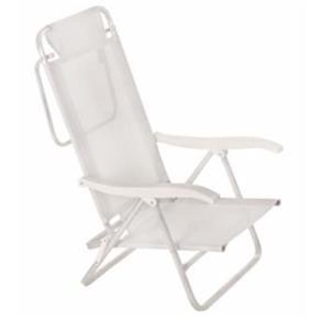 Cadeira Sol de Verão Branca - Mor