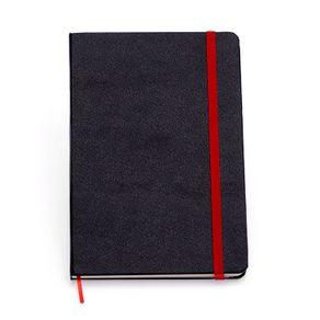 Tudo sobre 'Caderneta Clássica 9x13 - Vermelha e Preta Pautada'