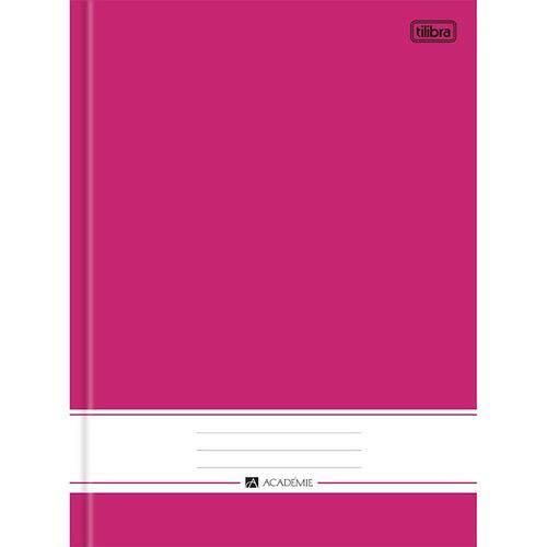 Tudo sobre 'Caderno Brochura Capa Dura 96 Folhas Académie Rosa Tilibra'