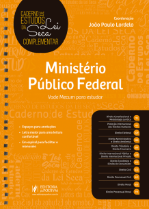 Tudo sobre 'Caderno de Estudos da Lei Seca Complementar - Ministério Público Federal - MPF (2019)'