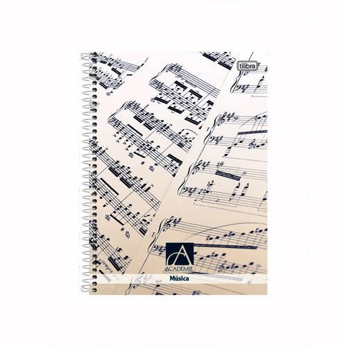 Tudo sobre 'Caderno de Música Capa Dura Universitário 96 Folhas Tilibra'