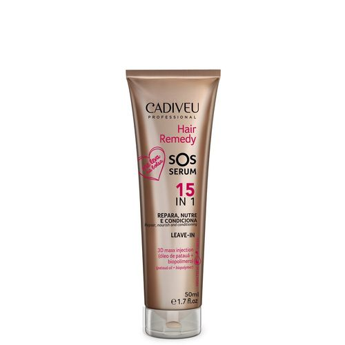 Cadiveu Hair Remedy Sos Serum 15 em 1 Leave-in 50ml
