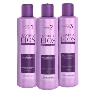 Cadiveu Plástica dos Fios Kit - Shampoo + Antifrizz + Máscara Restauradora Kit