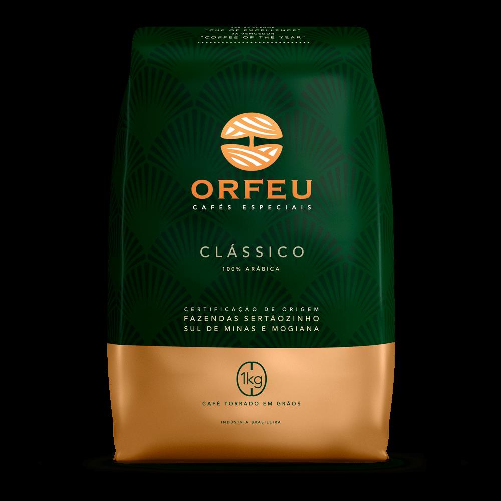 Tudo sobre 'Café Orfeu - Clássico Torrado em Grãos | 1kg 000500'
