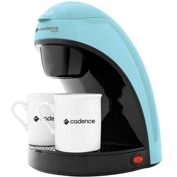 Cafeteira Elétrica 450W Single Colors + 2 Xícaras CAF113 Azul - Cadence